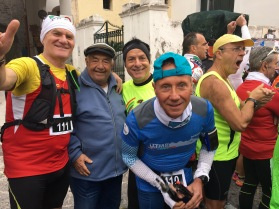 We felt reassured by the mixed ability field - from fishermen to Ultra Trail du Mont Blanc veterans!!